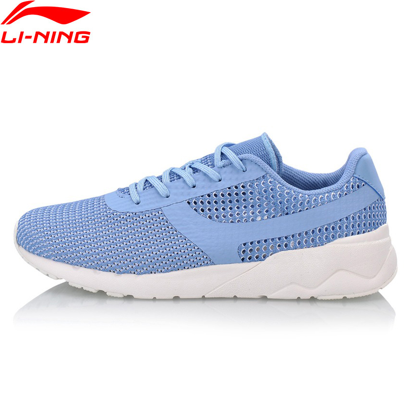 Li-Ning Women HEATHER KNIT Classic Lifestyle Shoes Light Comfort LiNing Li Ning Sport Shoes Breathable Sneakers AGCN028 YXB170