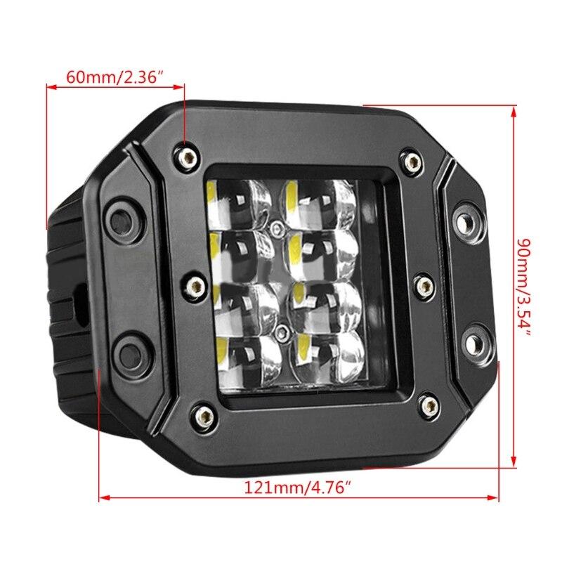 2021 nouvelle barre lumineuse de travail de LED de bâti affleurant pour la voiture
