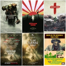 The movie Blood War Hacksaw Ridge retro classic poster bar home decoration painting