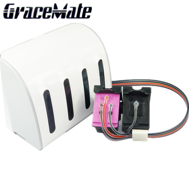 GraceMate Compatible Ink System Replacement for <font><b>HP</b></font> 302 XL for <font><b>HP</b></font> <font><b>Deskjet</b></font> 2130 2135 1110 3630 3632 <font><b>3639</b></font> Officejet 3830 3834 image