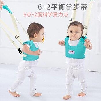 Bebé Andador Para niños Protable arnés de bebé correa auxiliar de aprendizaje...