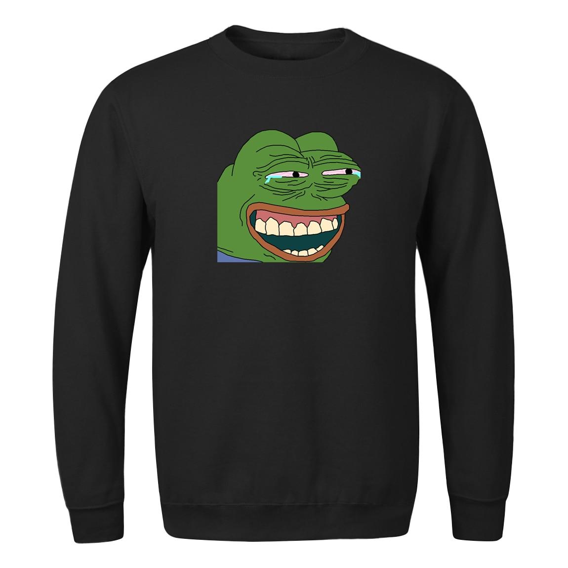 2020 Frog Print Sweatshirts Streetwear Funny Star Wars Male Pullovers Men Women Casual High Quality Hoodies Master Yoda Top