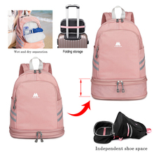 Waterproof Swimming Backpack Dry Wet Bag Camping GYM Backpacks Sports Bags Travel Pool Beach Swimsuit Rucksack For Shoes