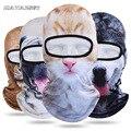 Уличная спортивная мягкая маска для верховой езды с 3D принтом животных  головной платок с защитой от солнца  капюшон  велосипедная маска для...