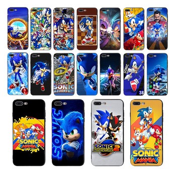 Sonic the Hedgehog Soft phone phone case for iphone 11 pro max  X XS XR 5 se 5s 10 8 7 6s 6 plus cover TPU shell Funda Coque