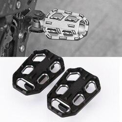 Dla BMW G310GS R1200GS S1000XR F750GS F850GS wzmocnienie motocykla szeroki motocykl pedał podnóżki nakładki na pedały podnóżki