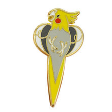 สวยPied Cockatiel Lapel Pinการ์ตูนตลกArt Collection(China)