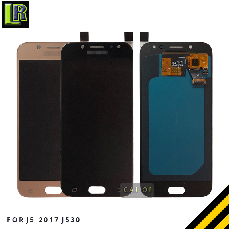 Adjustable Brightness for <font><b>Samsung</b></font> <font><b>Galaxy</b></font> <font><b>J5</b></font> <font><b>2017</b></font> J530 J530F SM-J530F LCD <font><b>Display</b></font> + Touch Screen Digitizer Assembly image