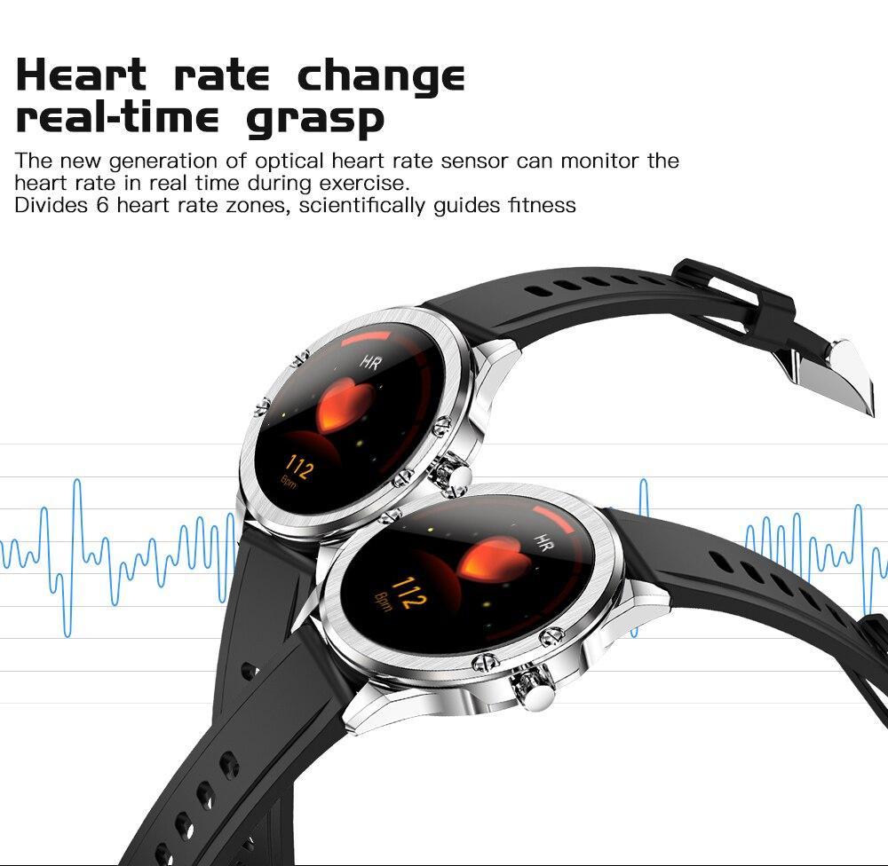 H1a703477ae0b49f58fcea9436cb1363dg CYUC S11 Smart watch men HD Full round Screen IP68 Waterproof