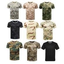 Тактический фитнес летние футболки с короткими рукавами футболка