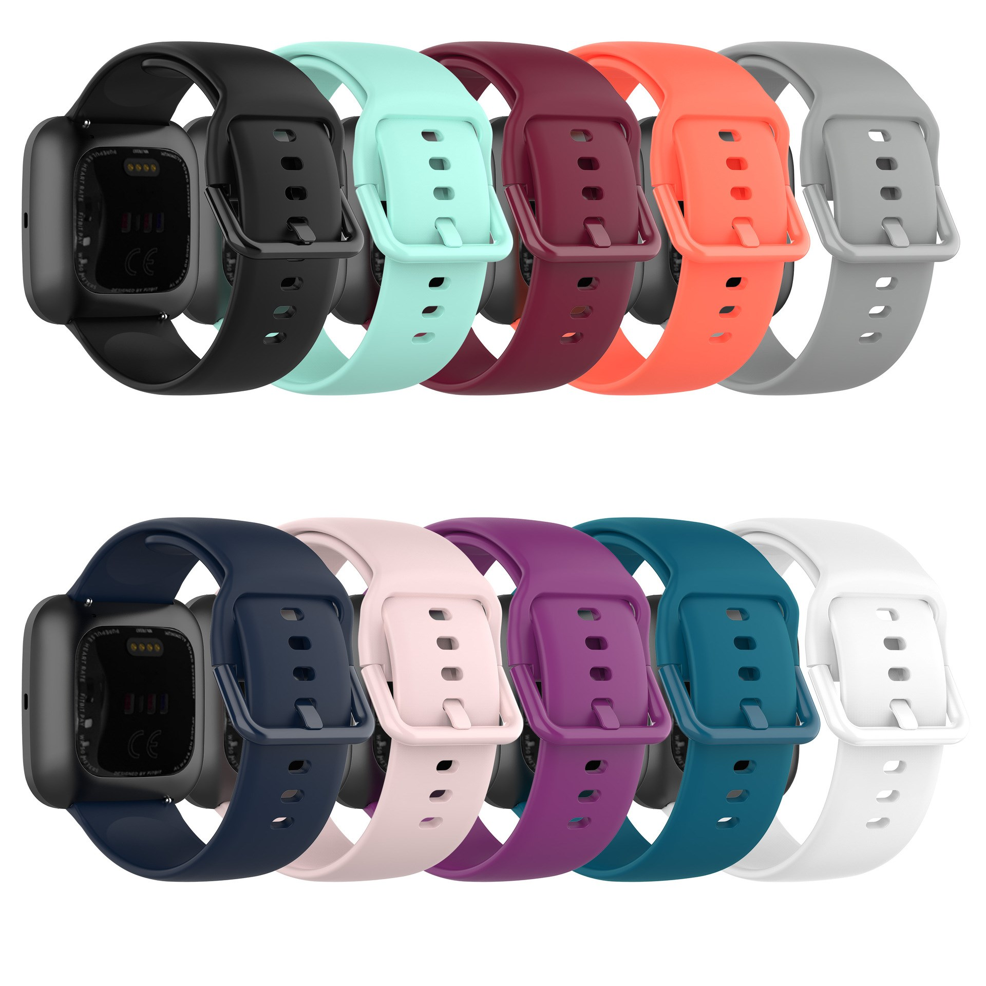 20mm 22mm Silicone Strap for Samsung Galaxy Watch 42m 46mm Watch 3 41mm 45mm Band Active 2 Gear S2 S3 Huawei Watch gt 2 Bracelet