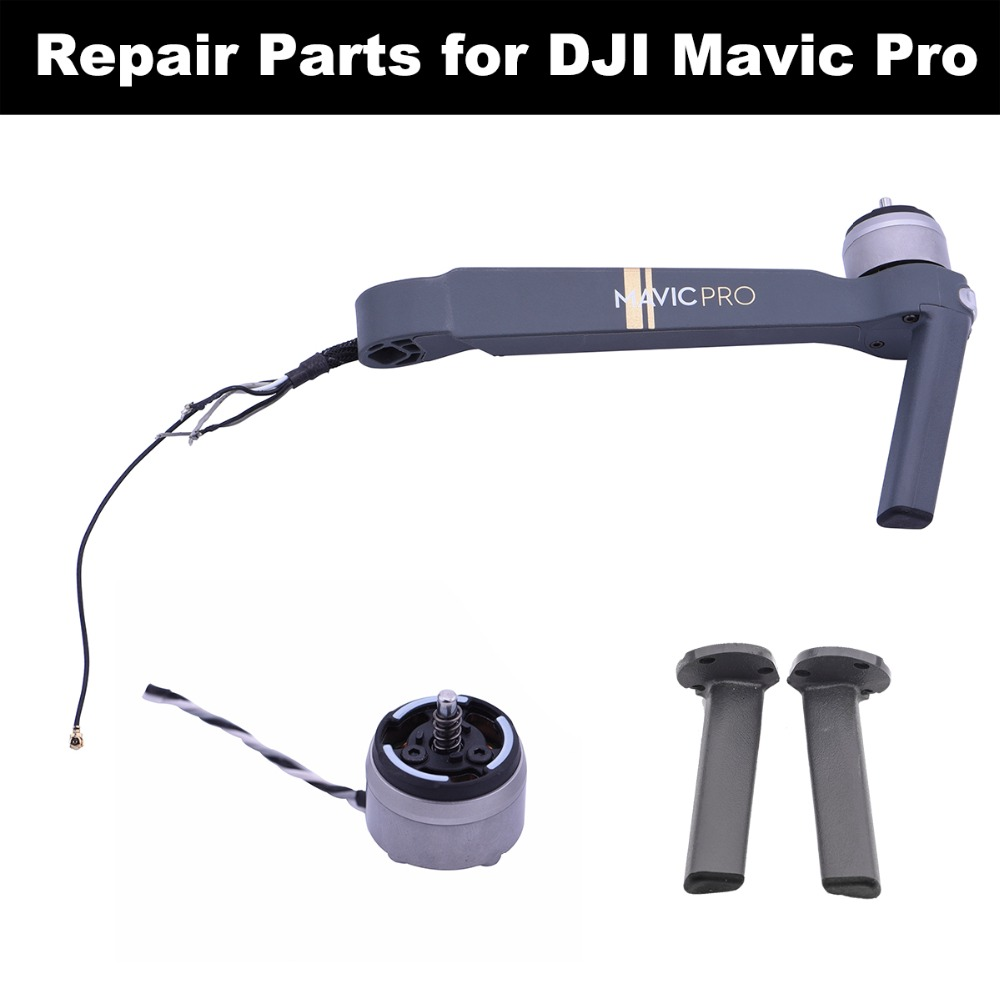 Engine Motor Body Right Left Front Back Arm Leg Landing Gear Kits For DJI Mavic Pro Drone Repairing Parts Camera Gimbal Mount