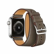 Loop-Strap Watch-Band Apple Double-Tour Extra-Long 38mm for 40mm 44mm-Series 42mm 5-6-Se