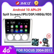 """JMCQ 9 """"2 Din 4G + WiFi Radio samochodowe dla Ford Focus Exi MT AT 2004 2011 odtwarzacz multimedialny Android 8.1 jednostka nawigacji GPS 2din"""