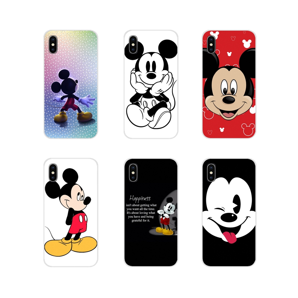 For ZTE Blade A5 2019 V6 V7 V8 Lite V9 V10 A 452 510 512 520 530 602 610 910 Mickey Mouse Accessories Phone Cases Covers