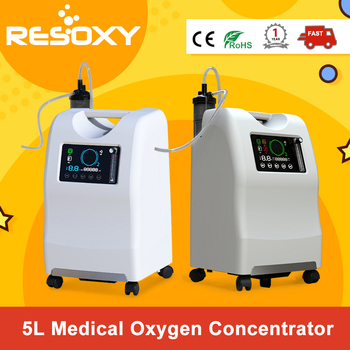 5l Oxygen Concentrator 24/7 Continuous Flow Use Medical Grade Home Oxygen Concentrator With Low Purity Alarm