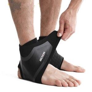 1 шт., воздухопроницаемые ремни для ног, защита под давлением, поддерживающие лодыжки, эластичные нейлоновые футбольные баскетбольные защит...