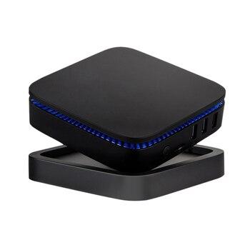 Umelody 2018 New Mini PC New TV Box AK1 Win10 smart tv mini pc 6GB/64GB J3455 WIFI 802.11 ac+BT AK1 mini pc
