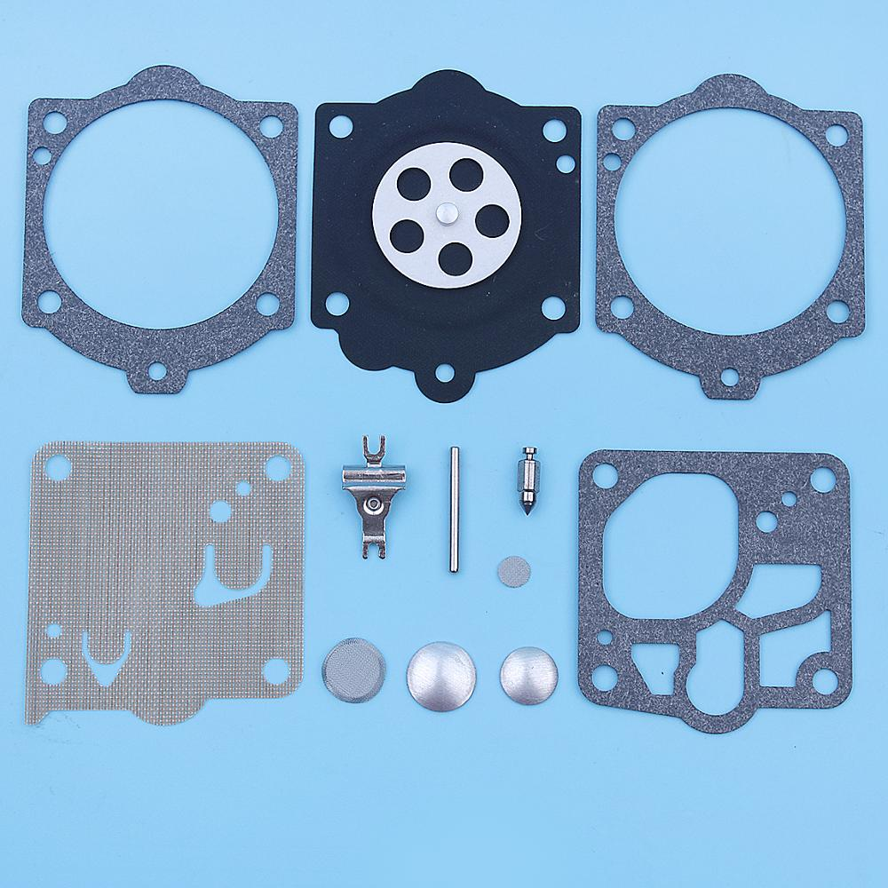 Carburetor Carb Repair Rebuild Kit For Husqvarna 372XP X-torq 365 X-torq Chainsaw Walbro K10-RWJ Replacement Spare Parts