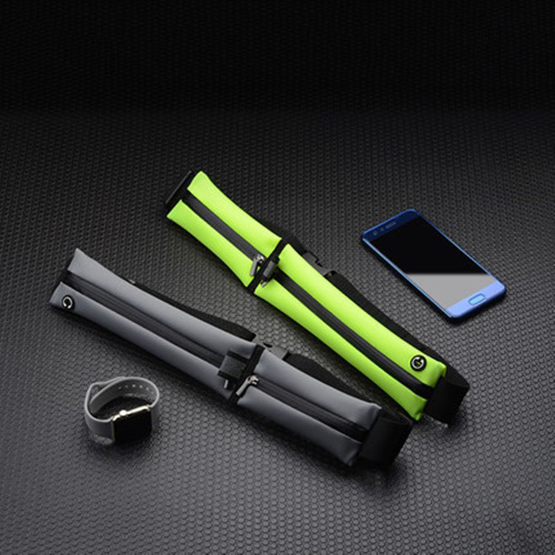 Unisex Outdoor Waist Mobile Running Bags Sports Waistband Multi-functional Invisible Fitness Waterproof Bag For Men And Women