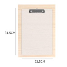 31*22cm A4 Magic Scratch Art Cards Painting Board Drawing Board clamp writing splint Office documents folder
