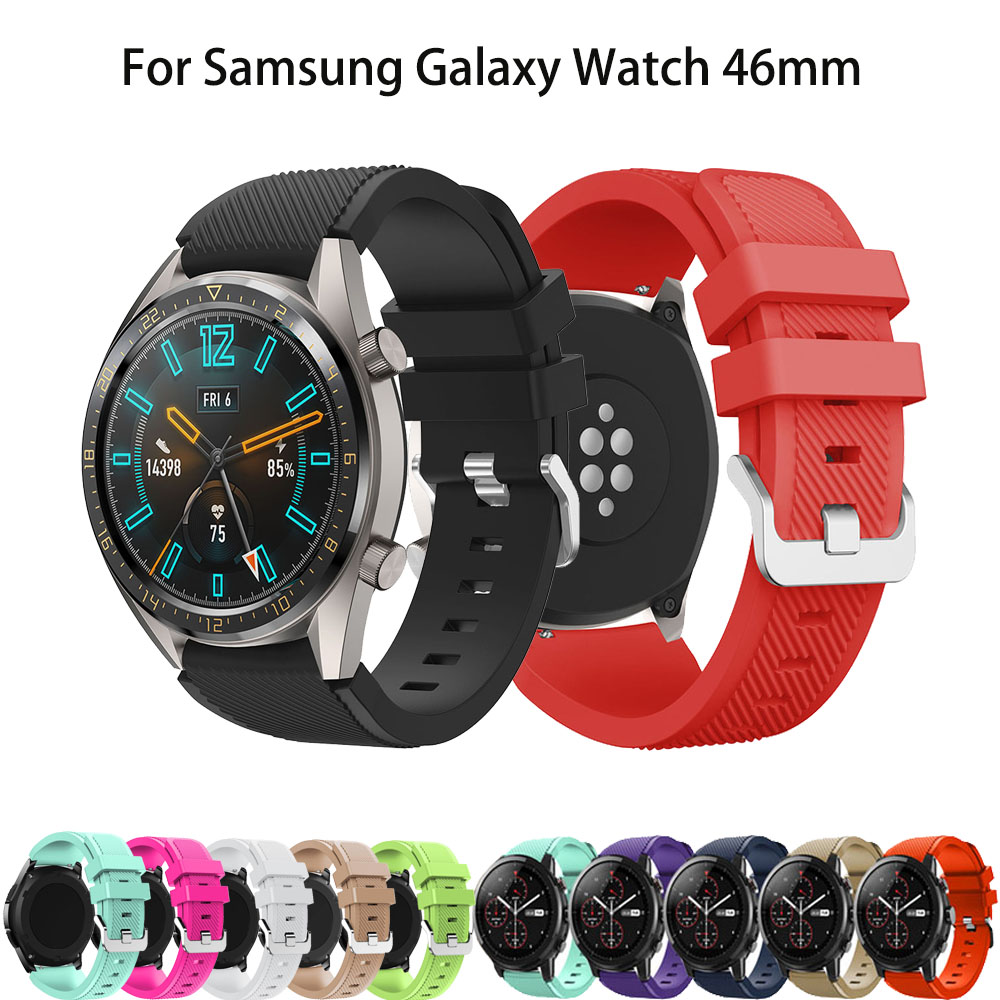 Watch Band For Huawei Watch GT Strap Smart Watch Replacement 22mm Wrist Strap For Samsung Gear S3 Galaxy Watch 46mm Accessories