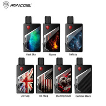 Original Rincoe Tix Pod System Vape Kit Electronic Cigarette 1000mAh Battery 2ml Empty Cartridge Portable E MTL DL Starter Kit original marvec mv pod starter kit with led screen 400mah adjustable wattage battery mod 2ml cartridge e cigarett vape pen vapor