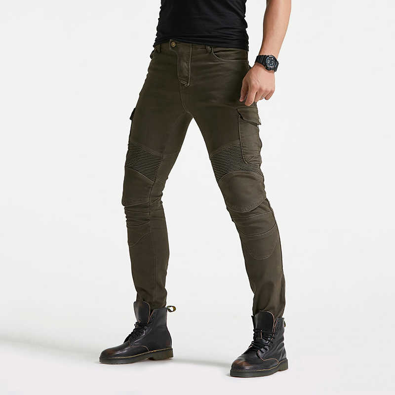 Skinny Jeans Men Biker Jeans Side Pocket Pleated Patchwork Fashion Brand Jeans Japanese Racing Denim Pants Men Blue Black x262