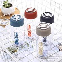 Creative personality rotating lightning single layer glass High borosilicate glass water cup