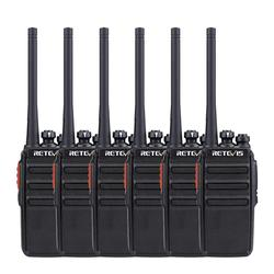 Retevis RT24 PMR446 Walkie Talkies 6pcs 0.5W Portable Walkie-Talkie UHF Station PMR446 Radio Station VOX Transceiver Comunicador