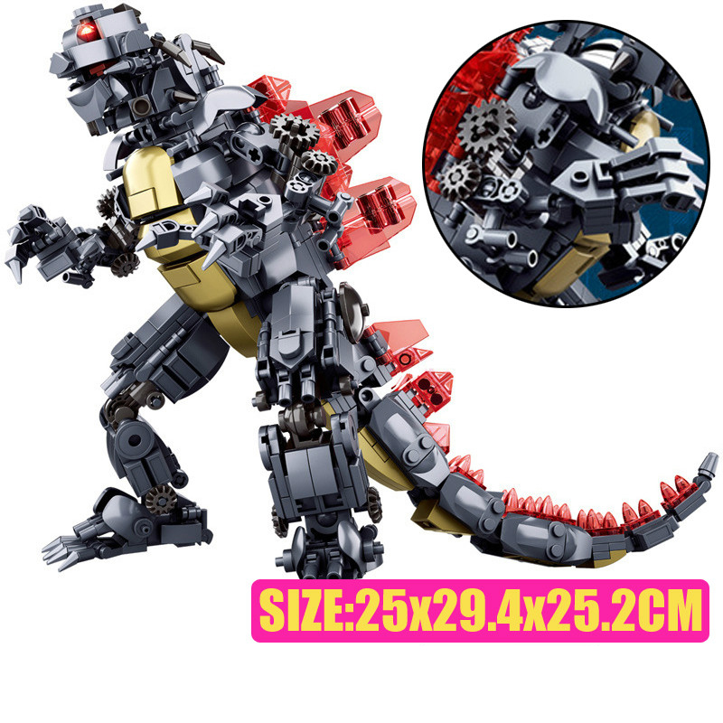 Sluban M38-B0783/B0785/B0786 King of The Monsters Godzilla Ghidorah Rodan Building Blocks 29
