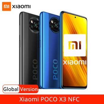 Global Version Xiaomi POCO X3 NFC Smartphone 6GB RAM 128GB ROM Snapdragon 732G 64MP Quad Camera 5160mAh Battery 33W Fast Charge