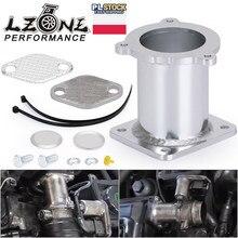 LZONE-aluminiowy zestaw do usuwania EGR obejście do BMW serii 5 E60 E61 E61N 520i 525d 530d 535d usuń zestaw JR-EGR08