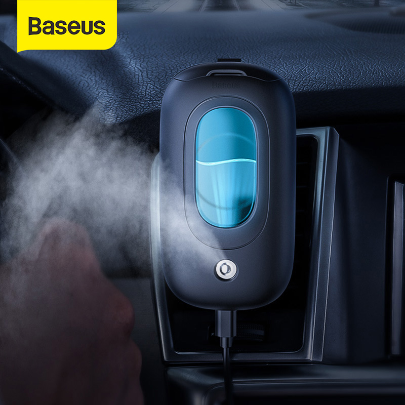 Baseus Car Humidifier Aroma Diffuser For Home Aromatherapy Diffuser Essential Oil Diffuser Portable Air Freshener Mist Maker