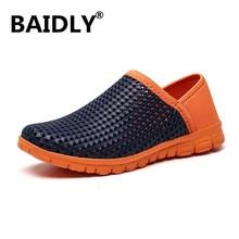 Beach Sandals Outdoor Shoes Slippers Men Clogs Summer Homme Erkek 36-46