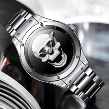 Watch Men LIGE Clock Chronograph Quartz Waterproof Sport Top-Brand New-Fashion Luxury
