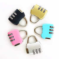 Travel Security Protect Locker Suitcase Lock Luggage Lock 3 Digit Combination Padlock for Lugga