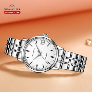 Image 3 - 2020 Seagull Mens and Womens Watches Business Automatic Mechanical Steel Band Calendar Waterproof Simple Fashion Watch 816.362