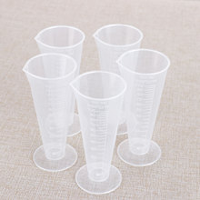 Container Measuring-Cups Pouring Plastic Beaker 100ml 5 Spout Conical Clear Graduated