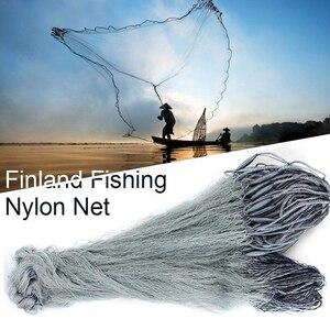 Image 5 - Handmade Finland Fishing Net Gillnet Single Layer Monofilament Fish Network Sticky Mesh Catch 25 60mm Heald Mesh 1.8M*30M