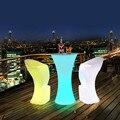 Светодиодный светильник  высокий барный стул  стул для бара  прозрачный барный стул  барный стул  светильник с пультом дистанционного управ...