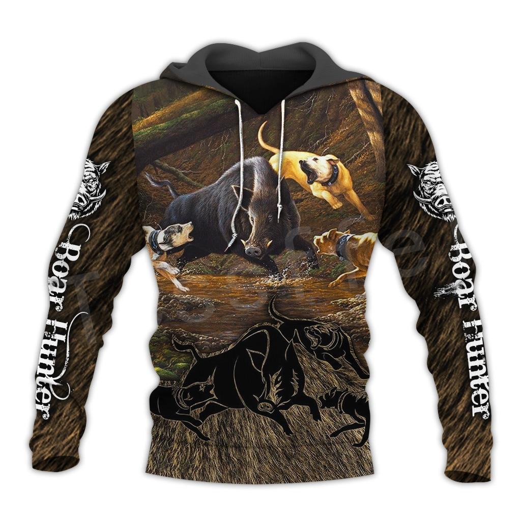 Tessffel Animal Bow Deer Hunter Hunting Camo Tracksuit Pullover NewFashion Unisex 3DPrint Sweatshirts/Hoodies/zipper/Jacket S-3