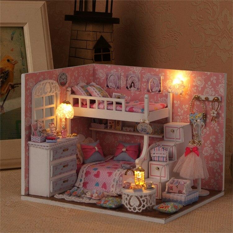 kit de móveis casas de bonecas em