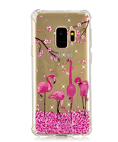 Cartoon Back Cover for Samsung Note 9 8 S9 S8 + Plus Clear Transparent Soft TPU Fundas for Galaxy Galaxi S7 Edge Phone Case Caso