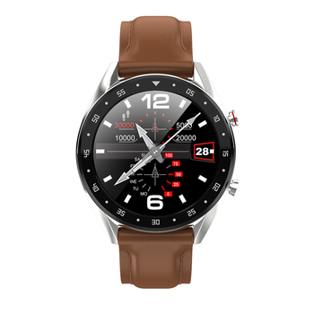 LEMFO L7 PPG + ECG Smart Watch Men Full Round Touch IP68 Waterproof Bluetooth Call Heart Rate Smart Bracelet Android IOS