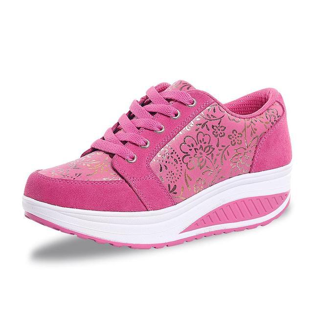 Купить женские теннисные туфли дышащие кроссовки без шнуровки спортивная