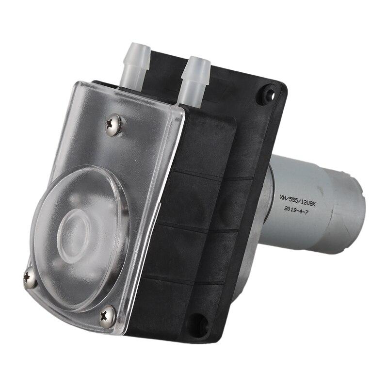 12V перистальтический насос микро-постоянный ток насос большой поток шланговый насос Быстрый Насос с мотором максимальный расход 2000 мл