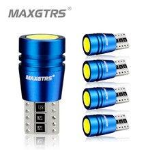 Bombillas LED Canbus COB de repuesto, luces de matrícula de coche, luz de señalización lateral de estacionamiento, color blanco, T10, 168, 194, 2825, W5W