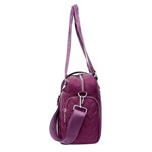 Image 2 - Women Top handle Shoulder Bag Designer Handbags Nylon Female Messenger Bags Casual Shopping Tote Bolsas Sac A Main Crossbody Bag