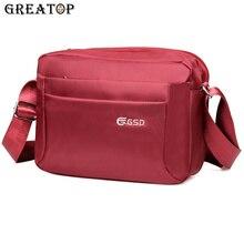 GREATOP sacoches multi poches pour hommes, sac à épaule imperméable 4 couleurs, sacoche Oxford pour voyage daffaires Y0026, décontracté
